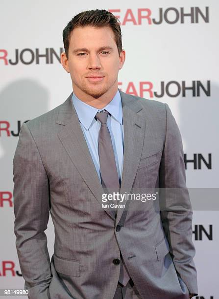Channing Tatum attends the gala screening of 'Dear John' at the Odeon High Street Kensington on March 30 2010 in London England