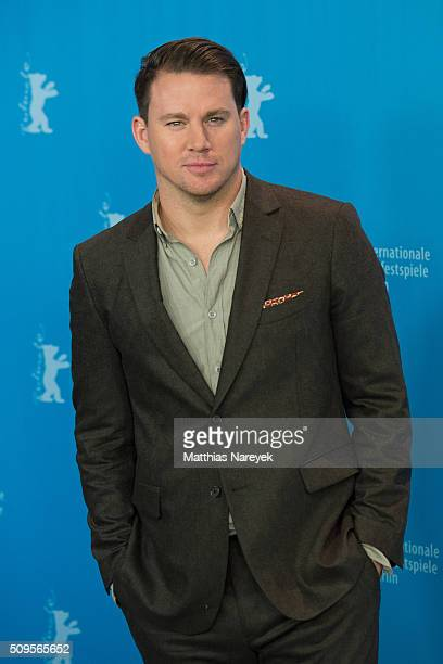 Channing Tatum attends the 'Hail Caesar' photo call during the 66th Berlinale International Film Festival Berlin at Grand Hyatt Hotel on February 11...