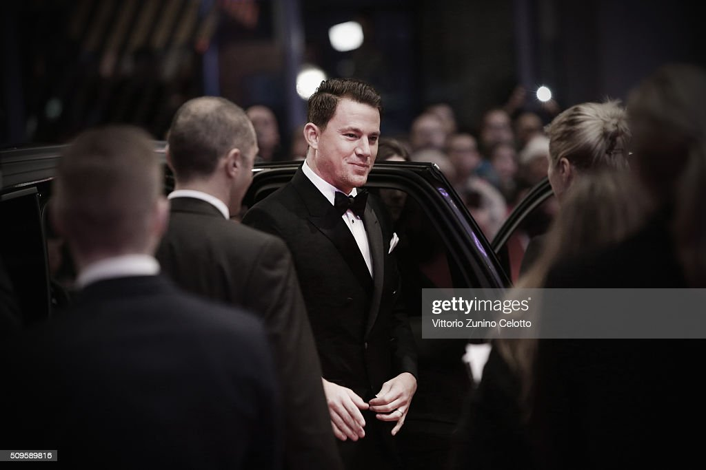 Channing Tatum attends the 'Hail Caesar' premiere during the 66th Berlinale International Film Festival Berlin at Berlinale Palace on February 11...