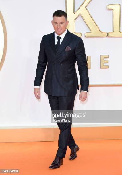 Channing Tatum attends the 'Kingsman The Golden Circle' World Premiere at Odeon Leicester Square on September 18 2017 in London England