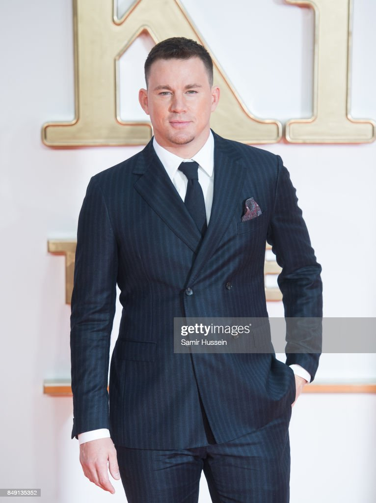 Channing Tatum attends the 'Kingsman: The Golden Circle' World Premiere held at Odeon Leicester Square on September 18, 2017 in London, England.