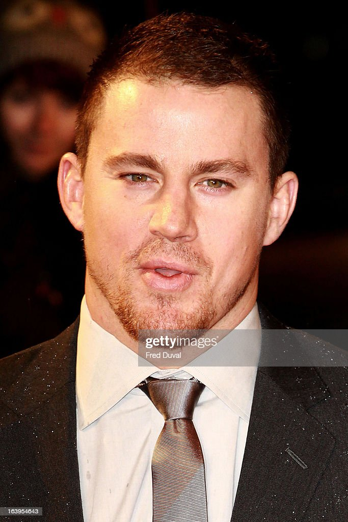 <a gi-track='captionPersonalityLinkClicked' href=/galleries/search?phrase=Channing+Tatum&family=editorial&specificpeople=549548 ng-click='$event.stopPropagation()'>Channing Tatum</a> attends the UK film premiere of 'G.I. Joe: Retaliation' at The Empire Cinema on March 18, 2013 in London, England.