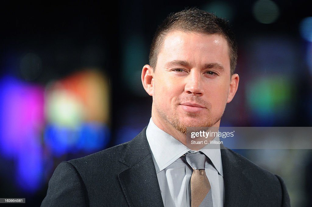 <a gi-track='captionPersonalityLinkClicked' href=/galleries/search?phrase=Channing+Tatum&family=editorial&specificpeople=549548 ng-click='$event.stopPropagation()'>Channing Tatum</a> attends the UK Premiere of G.I. Joe: Retaliation at Empire Leicester Square on March 18, 2013 in London, England.