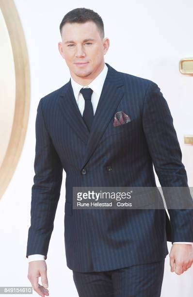 Channing Tatum attends the UK premiere of 'Kingsman The Golden Circle' at Odeon Leicester Square on September 18 2017 in London England