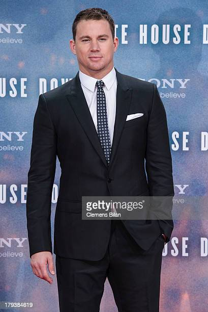 Channing Tatum attends the 'White House Down' Germany premiere at CineStar on September 2 2013 in Berlin Germany