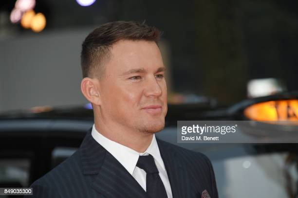 Channing Tatum attends the World Premiere of 'Kingsman The Golden Circle' at Odeon Leicester Square on September 18 2017 in London England