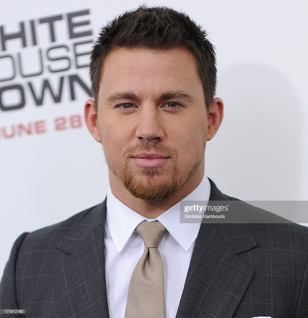 Channing Tatum attends 'White House Down' New York Premiere at Ziegfeld Theater on June 25, 2013 in New York City.