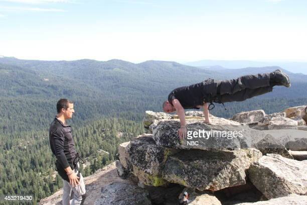 GRYLLS 'Channing Tatum' Episode 106 Pictured Bear Grylls Channing Tatum