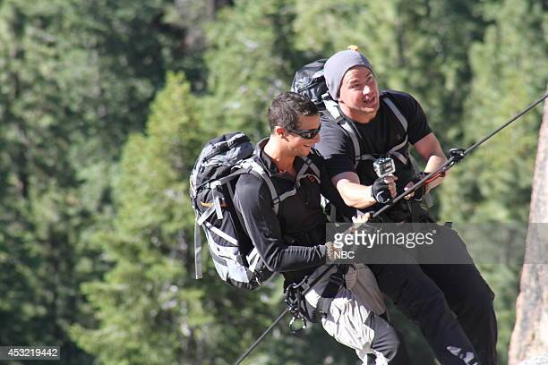 GRYLLS 'Channing Tatum' Episode 106 Pictured Bear Grylls Channing Tatum