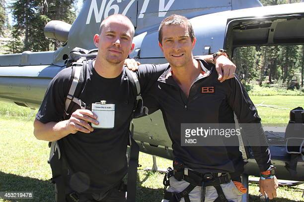 GRYLLS 'Channing Tatum' Episode 106 Pictured Channing Tatum Bear Grylls