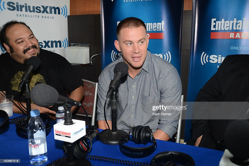 Channing Tatum is interviewed on SiriusXM's Entertainment Weekly Radio channel from Comic-Con 2014 at The Hard Rock Hotel on July 25, 2014 in San Diego, California.