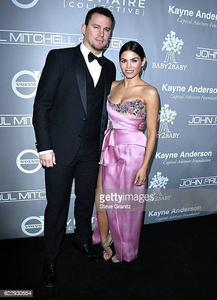 Channing Tatum Jenna Dewan Tatum arrives at the 5th Annual Baby2Baby Gala at 3LABS on November 12 2016 in Culver City California