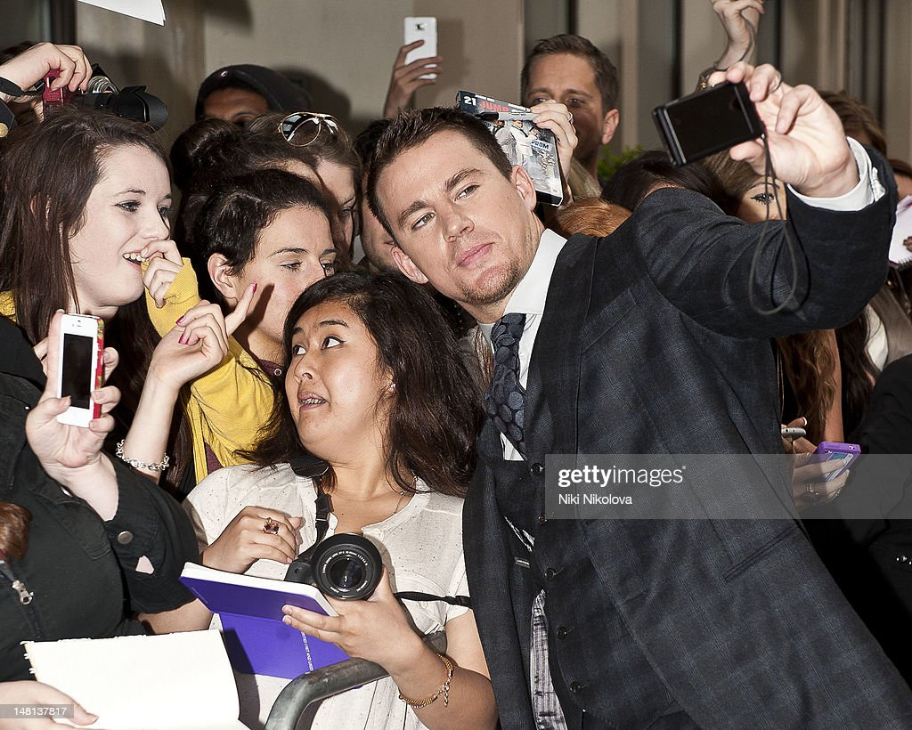 Channing Tatum sighting on July 10, 2012 in London, England.