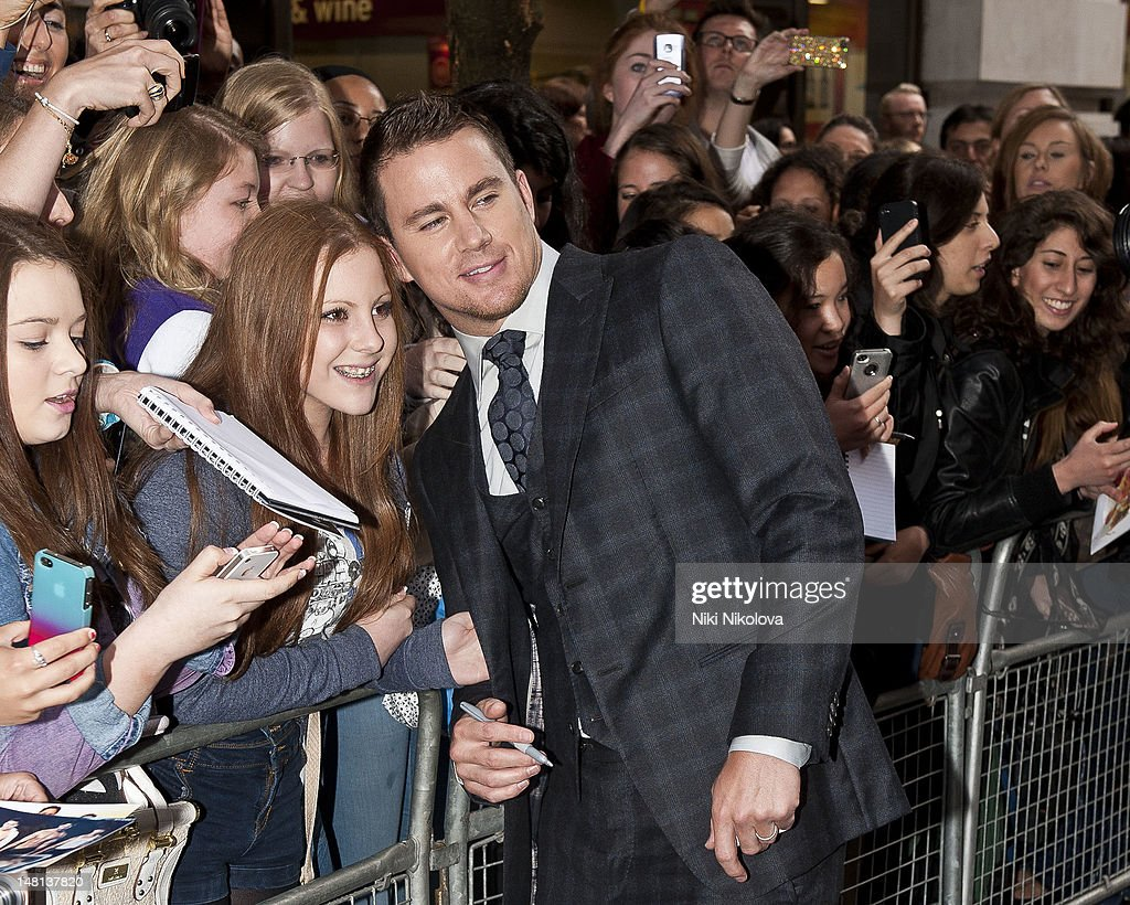 Channing Tatum sighting on July 10, 2012 in London, England.