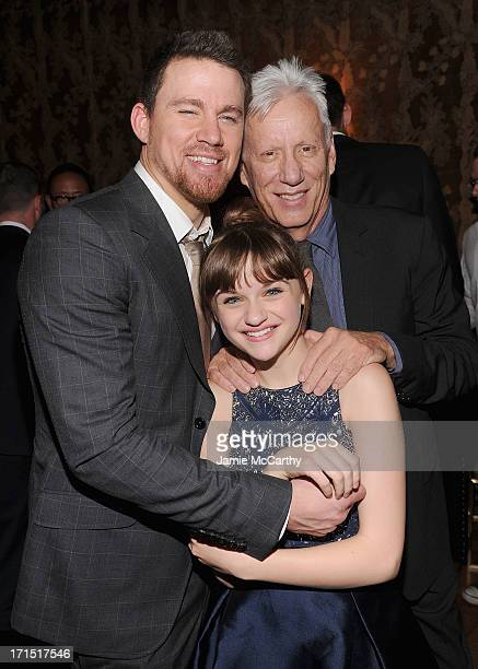 Channing TatumJoey King and James Woods attend 'White House Down' New York Premiere at on June 25 2013 in New York City
