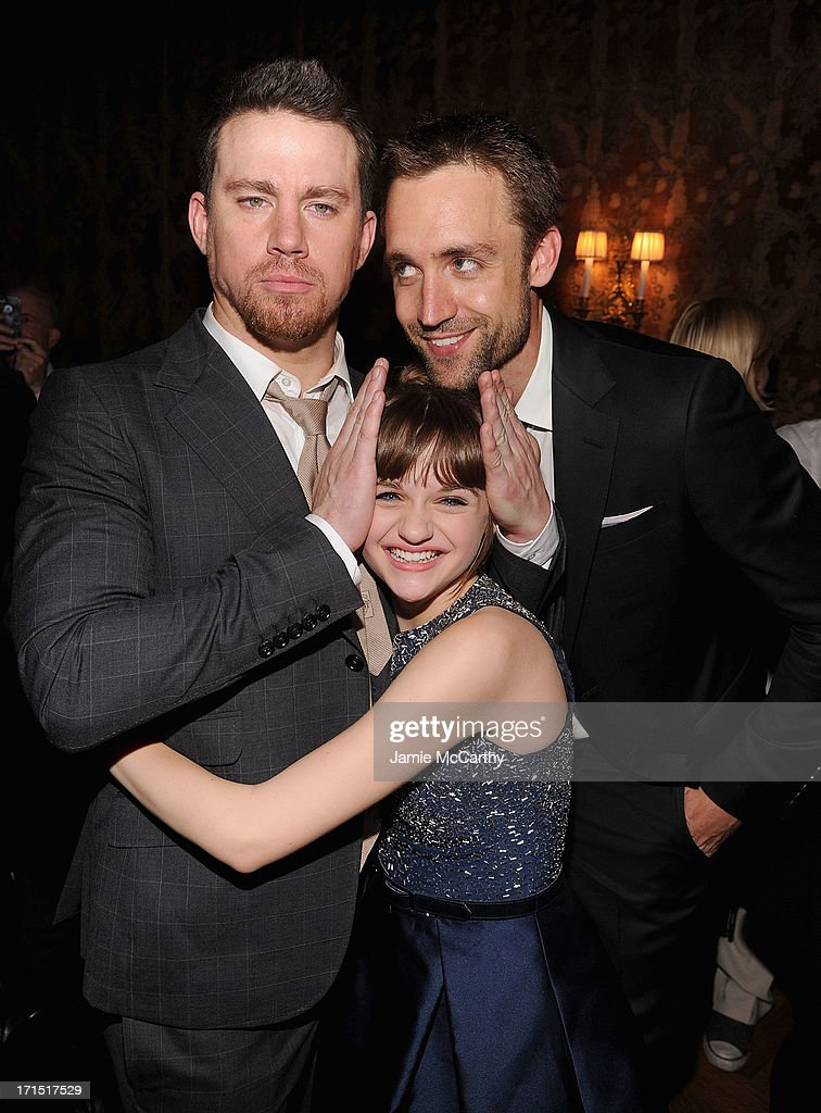 Channing Tatum,Joey King and producer Reid Carolin attend 'White House Down' New York Premiere at on June 25, 2013 in New York City.