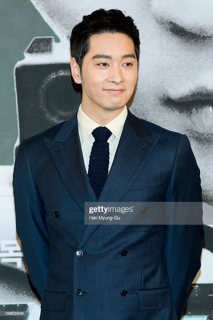 Chansung of South Korean boy band 2PM attends the MBC Drama '7th Grade Civil Servant' Press Conference at 63 Building on January 21, 2013 in Seoul, South Korea. The drama will open on January 23 in South Korea.