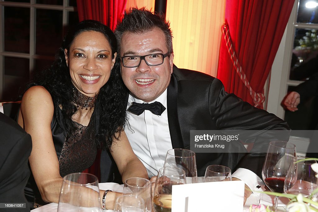 Chantal de Freitas and Reinhard Maetzler attend the Gala Spa Award 2013 at the Brenners Park Hotel on March 16, 2013 in Berlin, Germany.