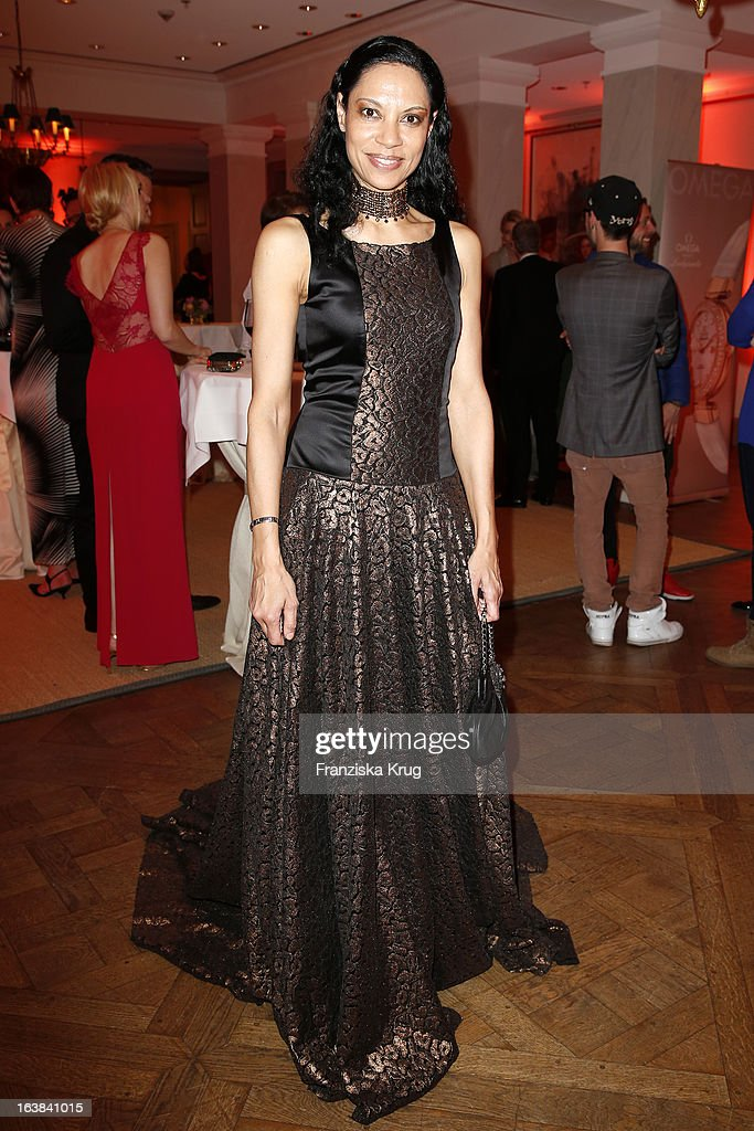 Chantal de Freitas attends the Gala Spa Award 2013 at the Brenners Park Hotel on March 16, 2013 in Berlin, Germany.