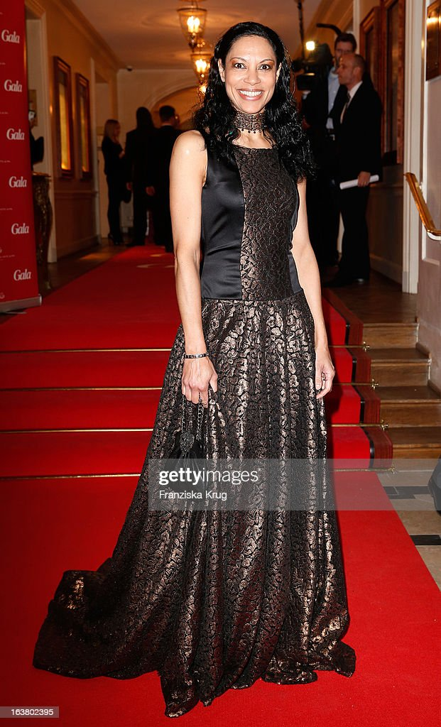 Chantal de Freitas attends the Gala Spa Awards 2013 at the Brenners Park Hotel on March 16, 2013 in Berlin, Germany.