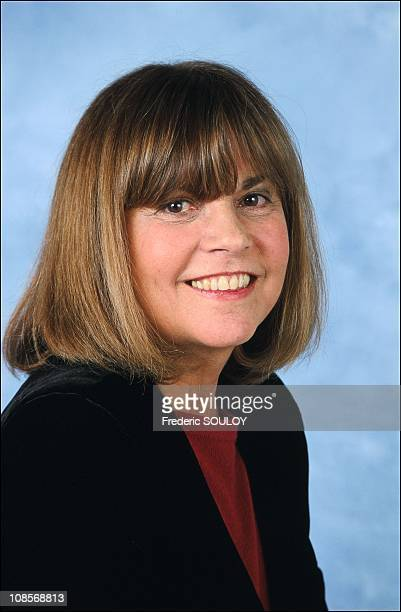 Chantal Goyain France in February 2001