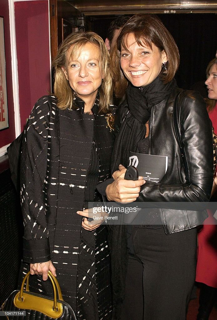 Chantal Hanover With Countess Bismark, Special Charity Preview Of Boy George's New Musical 'Taboo' In Aid Of The Mercury Phoenix Trust And The Child Welfare Society. At The Venue In Leicester Square, London And Then The Party At Soho House.