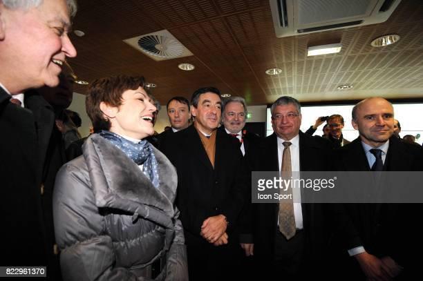 Chantal Jouanno / Francois FILLON Inauguration Stade MMARENA Le Mans