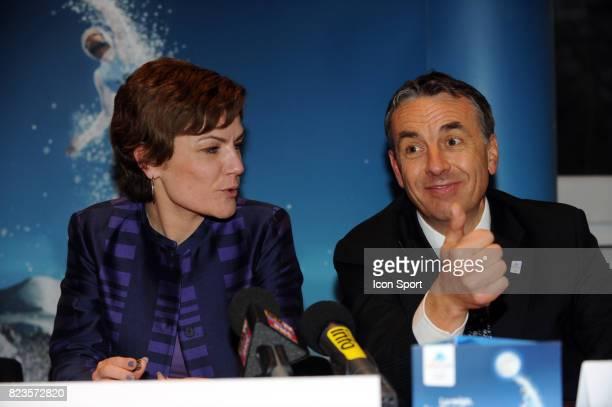 Chantal JOUANNO / Jean Luc RIGAUT Fondation du groupement d'interet public Nomination de Charles Beigbeder comme president du Comite de candidature...