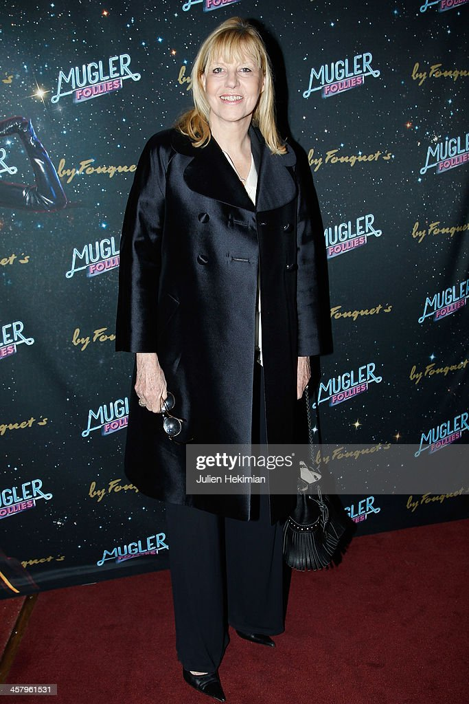 Chantal Ladesou attends 'Mugler Follies' Paris New Variety Show - Premiere on December 19, 2013 in Paris, France.