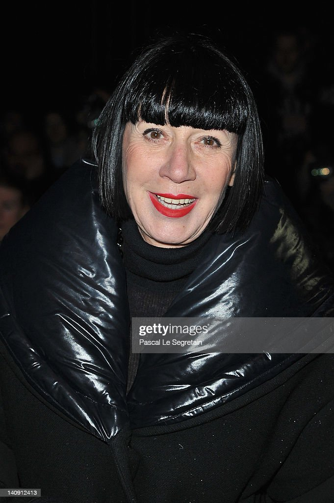 Chantal Thomass attends the Elie Saab Ready-To-Wear Fall/Winter 2012 show as part of Paris Fashion Week on at Espace Ephemere Tuileries on March 7, 2012 in Paris, France.