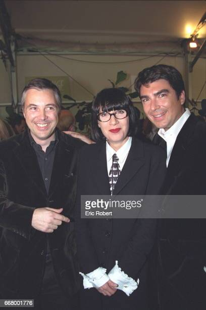Chantal Thomass with Olivier Lapidus and Stephane Rolland