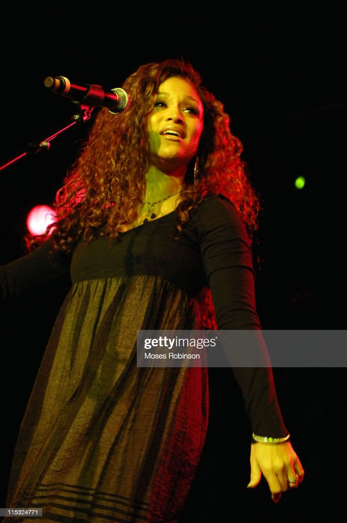 Chante Moore during Kirk Franklin and the Children's Defense Fund Presents 'Imagine Me AllStar Celebrity Concert' at Gaylord Opryland Resort...