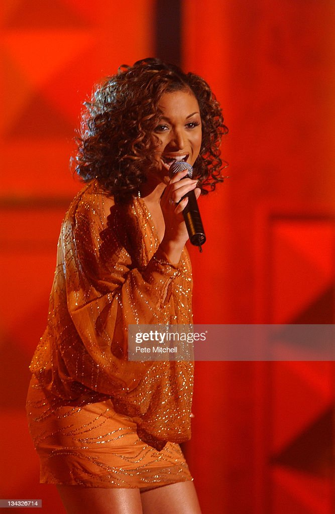 Chante Moore performing during the BET Walk of Fame show Honoring Stevie Wonder