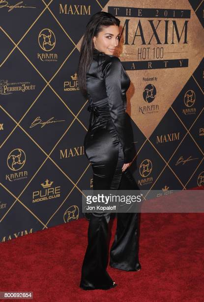 Chantel Jeffries arrives at The 2017 MAXIM Hot 100 Party at Hollywood Palladium on June 24 2017 in Los Angeles California