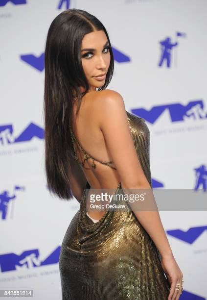 Chantel Jeffries arrives at the 2017 MTV Video Music Awards at The Forum on August 27 2017 in Inglewood California