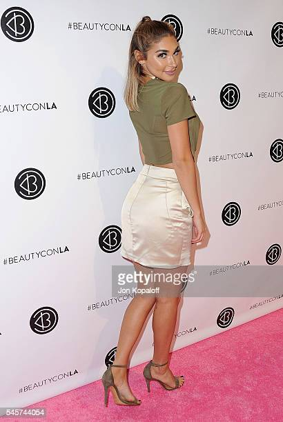 Chantel Jeffries arrives at the 4th Annual Beautycon Festival Los Angeles at Los Angeles Convention Center on July 9 2016 in Los Angeles California