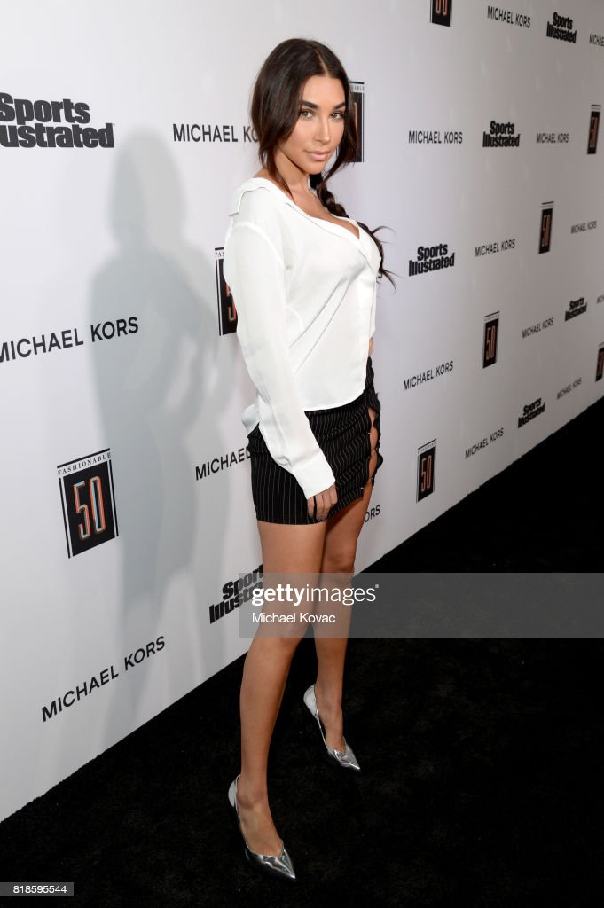 Chantel Jeffries at Sports Illustrated 2017 Fashionable 50 Celebration at Avenue on July 18, 2017 in Los Angeles, California.