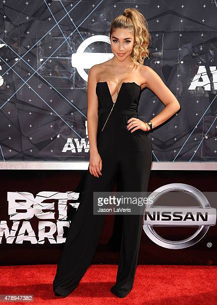 Chantel Jeffries attends the 2015 BET Awards at the Microsoft Theater on June 28 2015 in Los Angeles California