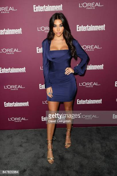 Chantel Jeffries attends the Entertainment Weekly's 2017 PreEmmy Party at the Sunset Tower Hotel on September 15 2017 in West Hollywood California