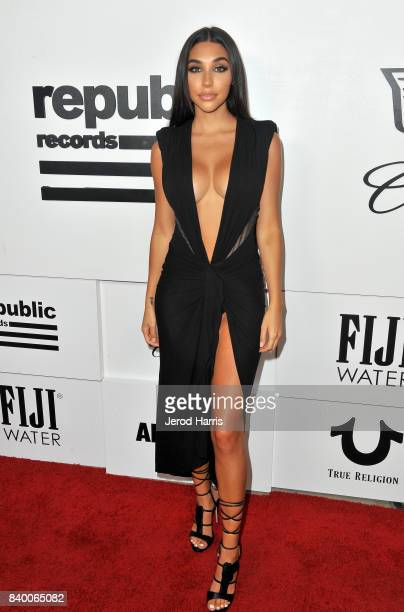 Chantel Jeffries attends the VMA after party hosted by Republic Records and Cadillac at TAO restaurant at the Dream Hotel on August 27 2017 in Los...