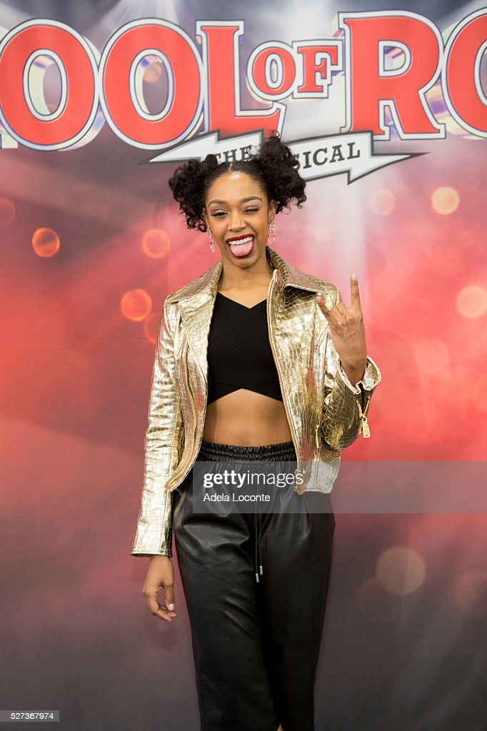 Chantel Riley attends 2016 Actors Fund Ziggy Bear ceremony and performance at Winter Garden Theatre on May 2, 2016 in New York City.