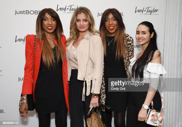 Chantelle DwomohPiper Anna Galchenyuk Danielle DwomohPiper and Amal Amamou attend as Lord Taylor and Bobbi Brown celebrate the launch of the...