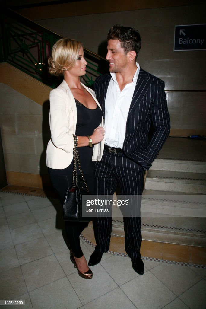 Chantelle Houghton and Alex Reid attend the DVD launch of The Fighter at York Hall on June 9 2011 in London England
