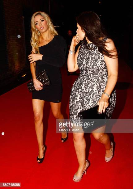 Chantelle Houghton attends the 60th Birthday Celebration of Richard Desmond at Old Billingsgate Market on December 8 2011 in London England