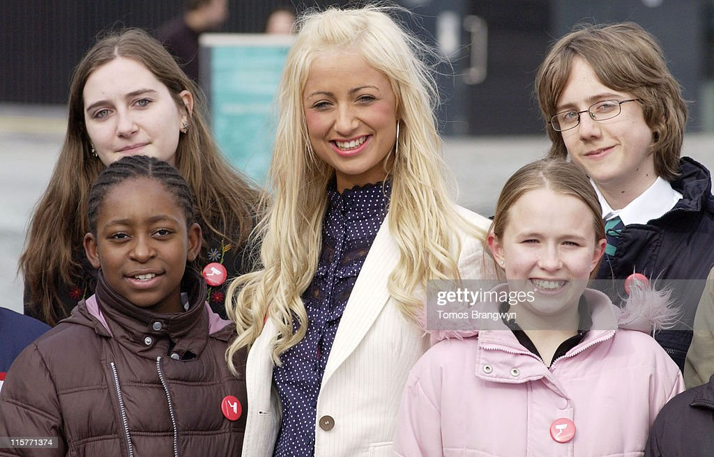 Chantelle Houghton during Bullywatch London Press Launch Photocall in London Great Britain
