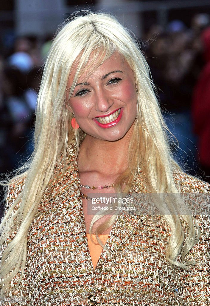 Chantelle Houghton during 'Ice Age 2 The Meltdown' London Premiere Arrivals at Leicester Square in London Great Britain