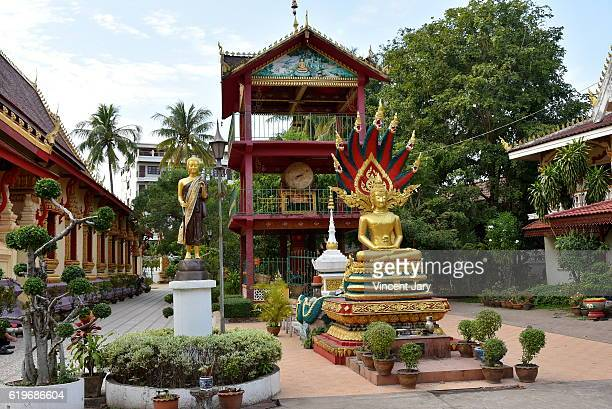 Chanthaboury temple Vientiane Laos