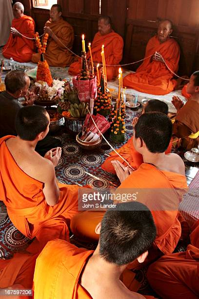 Chanting sessions are held in Laos and other Buddhist countries to commemorate auspicious occasions such as weddings or funerals The more monks...