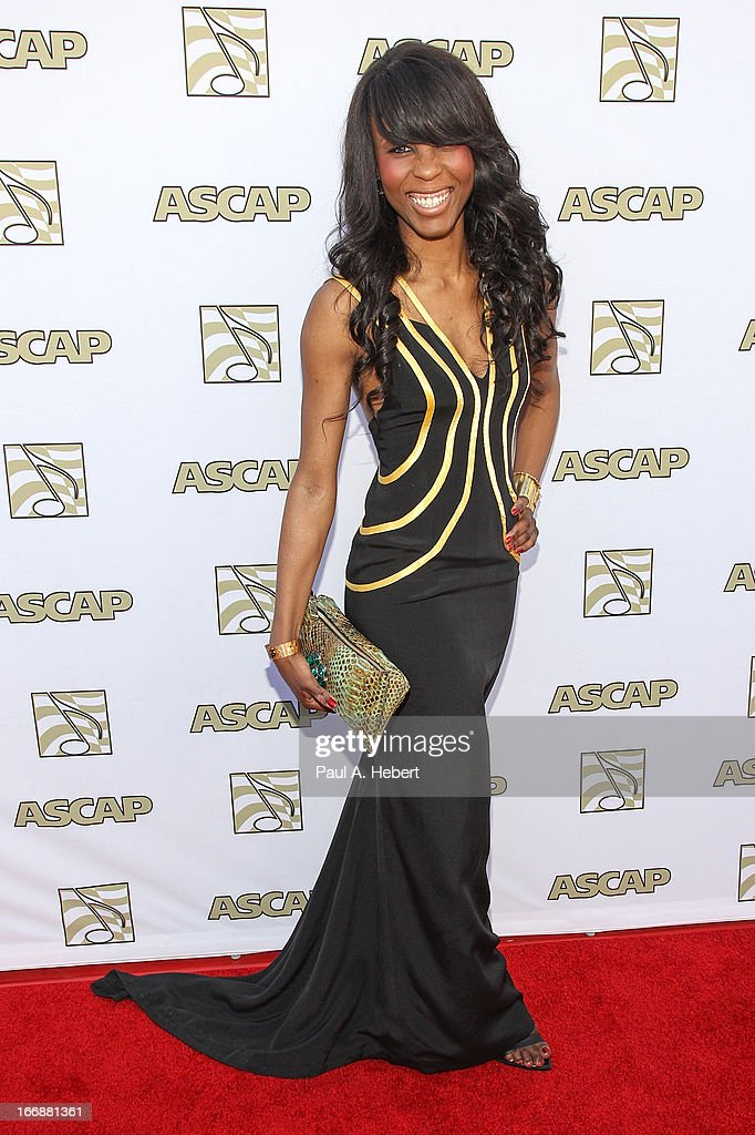 Chanty attends the 30th Annual ASCAP Pop Music Awards at Loews Hollywood Hotel on April 17, 2013 in Hollywood, California.