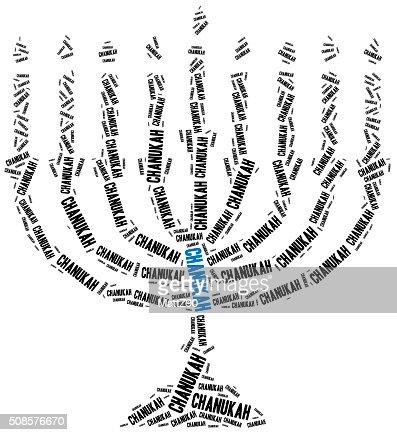 Chanukah, ebreo tradizionali delle festività. : Foto stock